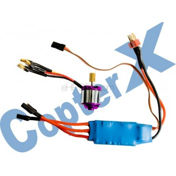 CopterX (CX200-10-00) 200L Brushless Motor (2800KV) & 30A Brushless ESC with BECCopterX CX 200 Parts