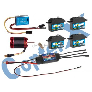 CopterX (CX500EPP-FBL-V2) 500 Flybarless Electronic Parts Package V2CopterX Electronic Parts