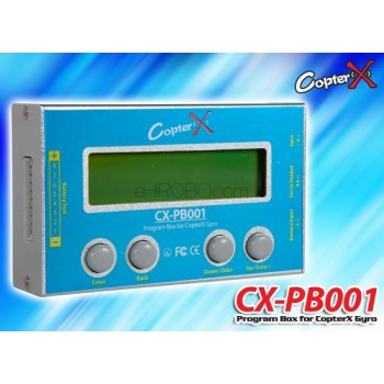CopterX (CX-PB001) Program Box for (CX-1X1000, CX-3X1000 and CX-3X2000) GyroFlybarless / Multi-blades