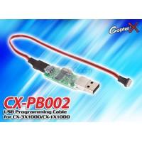 CopterX (CX-PB002) USB Programming Cable for CX-1X1000, CX-3X1000 and CX-3X2000