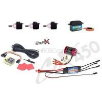 CopterX (CX450EPP-FBL-V3) 450 Flybarless Electronic Parts Package V3