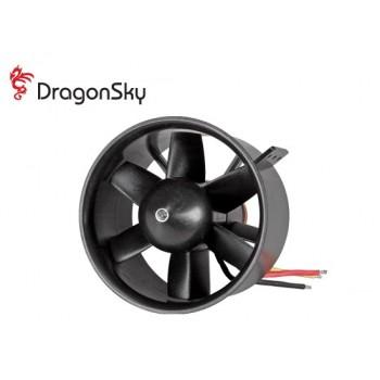 DragonSky (DS-DF-1750KV) Ducted Fan Unit 6 Blades 86mm with 1750KV Brushless Motor