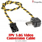 DragonSky (DS-FPV-VC-GOPRO3) FPV 5.8G Video Conversion Cable for GoPro HERO3