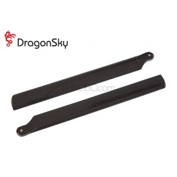DragonSky (DS-M-218P-01) Plastic Main Rotor Blades 218mmMain Rotor Blades - Plastic