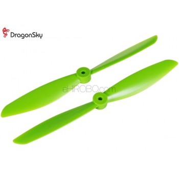 DragonSky (DS-P-1047-G) Multirotor 10*4.7 Clockwise and Counter Clockwise Propeller Set (Green)