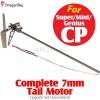 DragonSky (DS-SUPER-CP-TAIL) Super CP / Mini CP / Genius CP Complete 7mm Tail Motor Upgrade Set