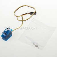 HiTEC HS-50 Super Feather Micro Analog Servo 3 Pole Motor Glider