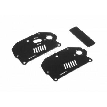 AR Racing (X-012) Lower Frame PlatesMotard Parts