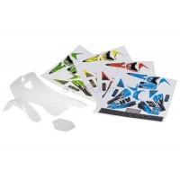 AR Racing (X-045) Body + Body Stickers