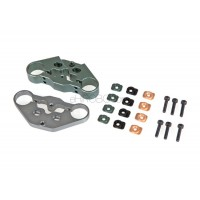 AR Racing (AR-X-173) Adjustable Aluminum Front Fork Plate