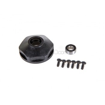 AR Racing (AR-X-304) Rear left hub with ball bearing (ONLY BASE)Motard Parts