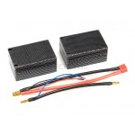 BatteryHobby (BH-5700mAh-25C-7.4V-HCS) 5700mAh 25C 2S 7.4V Hard Case Saddle Pack Lipo Battery Pack