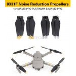 DJI Mavic Pro Platinum Accessories 8331F Noise Reduction Propellers (NOT DJI Brand)
