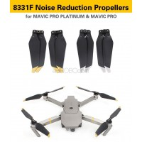 DJI Mavic Pro Platinum Accessories 8331F Noise Reduction Propellers (NOT DJI Brand)