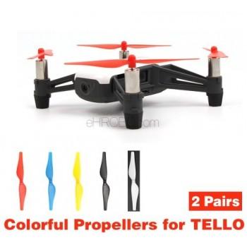 4PCS Quick Release Drone Propellers for DJI Tello Mini CCW//CW Drone Propellers Q