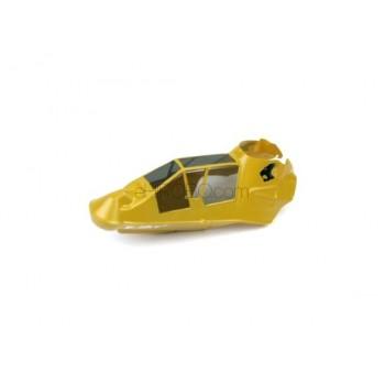 Esky (EK1-0588) Co-Comanche Canopy (Yellow)Esky E033/E034 Lama V4 Parts