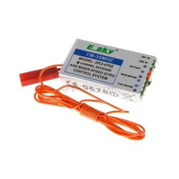 Esky (EK2-0705) 4 in 1 controller / Receiver - 35MHzEsky E033/E034 Lama V4 Parts