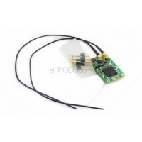 FrSky XM Plus + Ultra Light 1.6g 2.4G 16CH Full range Mini Receiver for RC FPV Racing Drone