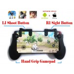 Mobile Game Controller Sensitive Shoot and Aim Keys L1R1 and Gamepad for PUBG/Knives Out/Rules of Survival, Mobile Gaming Joysticks for Android IOS
