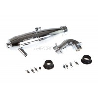 GROSSI ENGINES (3-00040) Rally Game Muffler Kit