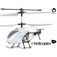 Happy Cow (HC-777-173-W) iPhone controlled i-helicopter air 3CH Helicopter With Gyroscopes System Infrared RTF (White)