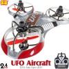 Hua Wei (HW-3220-R-M2) UFO Aircraft 3D 6 Axis Gyro 4CH UFO RTF (Red, Mode2)- 2.4GHzUFO Toys (2-6CH RTF)