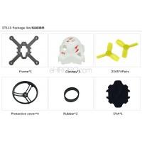 KINGKONG ET115 Carbon Fiber Frame Kit Set Racing Drone Spare Parts