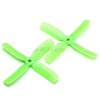 20PCS (10 Pairs) Kingkong 4040 4x4x4 4-Blade Props Propellers for FPV Racing