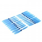20PCS (10 Pairs) Kingkong 56mm Blade Propeller Prop 20Pcs for Eachine QX90 QX95 DIY Micro Quadcopter