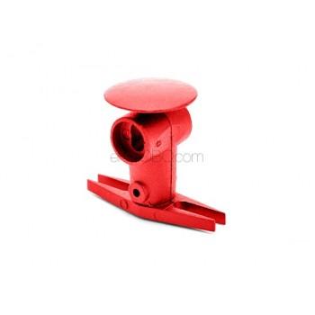Nine Eagles (NE400270) Metal Rotor Head Set (Red)Nine Eagles 125A V2 Parts