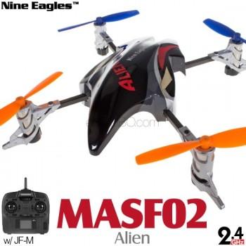 Nine Eagles (NE-MASF02-R) Alien 4CH UFO RTF (Red) - 2.4GHzNine Eagles
