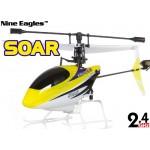 Nine Eagles (NE-R/C-260A-SOARII) 4CH SOAR (SOLO PROII) Micro Helicopter RTF - 2.4GHz