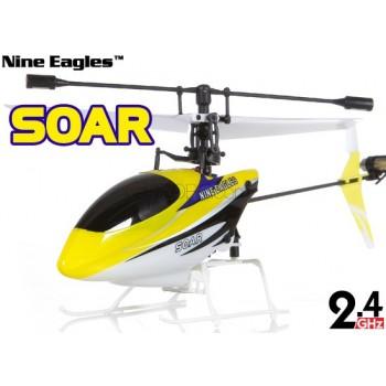 Nine Eagles (NE-R/C-260A-SOARII) 4CH SOAR (SOLO PROII) Micro Helicopter RTF - 2.4GHzHelicotpers