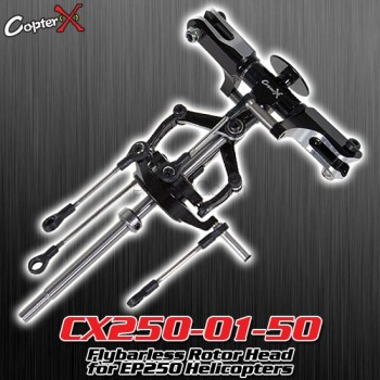 CopterX (CX250-01-50) Flybarless Rotor Head for EP250 HelicoptersFlybarless / Multi-blades