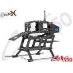 CopterX (CX250-03-00) Carbon Fiber Main Frame Set