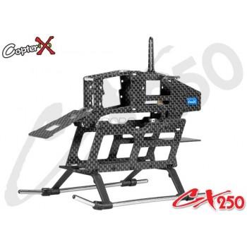 CopterX (CX250-03-00) Carbon Fiber Main Frame SetCopterX CX 250 Parts