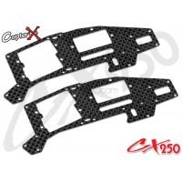 CopterX (CX250-03-01) Carbon Fiber Upper Main Frame