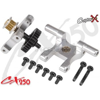 CopterX (CX250-03-10) Metal Tail Gear Drive SetCopterX CX 250 Flybarless Parts