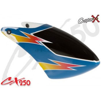 CopterX (CX250-07-10) 250 Class Glass Fiber CanopyCopterX CX 250 Flybarless Parts