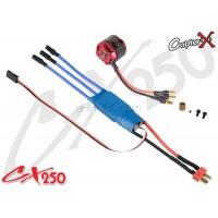 CopterX (CX250-10-04) 3400KV Brushless Motor & 18A Brushless ESC Set