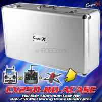 CopterX Full Size Aluminum Case for QAV 250 Mini Racing Drone Quadcopter