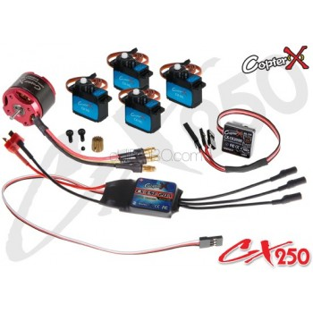 CopterX (CX250EPP-V3) 250 Flybar Electronic Parts Package V3CopterX Electronic Parts