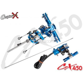 CopterX (CX450-01-00) Main Rotor Head SetALIGN Trex 450 Compatible Parts