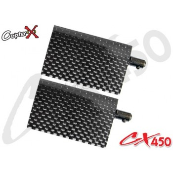 CopterX (CX450-01-14) Carbon Flybar PaddleCopterX CX 480 Parts