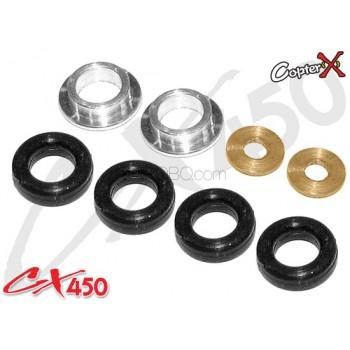 CopterX (CX450-01-16) Damper Rubber SetCopterX CX 450ME Parts