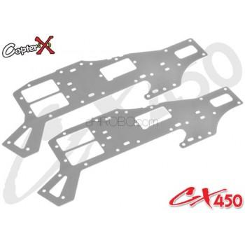 CopterX (CX450-03-23) Aluminum Upper FrameALIGN Trex 450 Compatible Parts