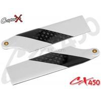 CopterX (CX450-06-13) Carbon Fiber Tail Blades 60mm