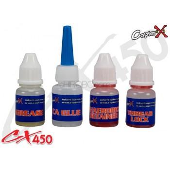 CopterX (CX450-08-18) Anaerobics Retainer, Grease, Thead Lock, CA GlueCopterX CX 480 Parts
