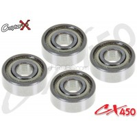 CopterX (CX450-09-04) Bearings(MR83ZZ) 3x8x3mm