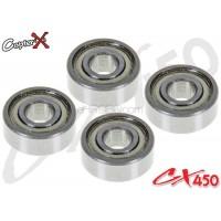 CopterX (CX450-09-04) Bearings(MR83ZZ) 3x8x3mm